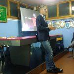 Riunione Tecnica con Davide Massa, Arbitro Internazionale della sezione di Imperia.
